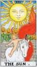 Старший аркан Солнце